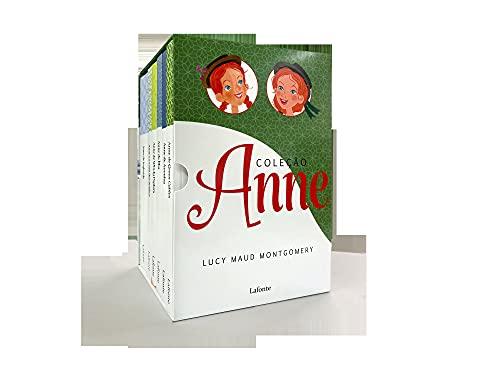 Box coleção Anne- 6 volumes