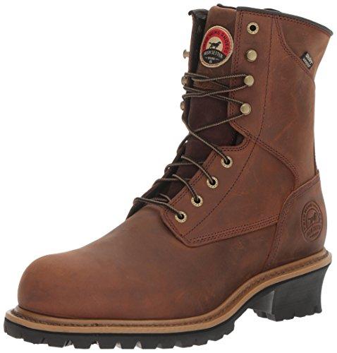 Irish Setter Work Men's Mesabi 83829 Work Boot, Brown, 11 D US
