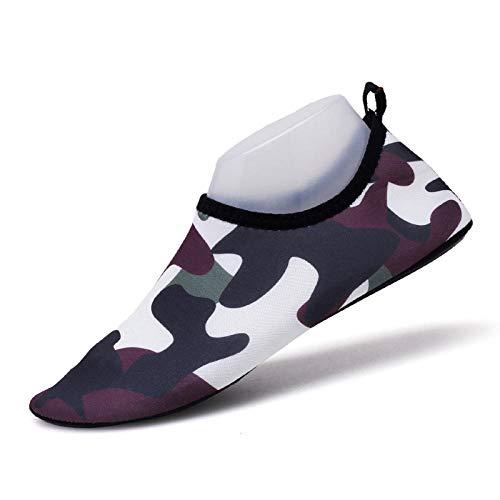 B/H Escarpines de Playa,Secado Rápido Zapatos,Zapatos de Playa ultraligeros, Zapatos de Piel Descalzo-E_43-44