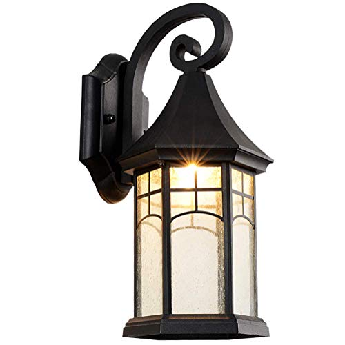 Antieke IP44 waterdichte wandlampen retro metaal glas design buitenlamp E27 landhuis wandlamp voor balkon lamp terras bad eettafel eetkamer