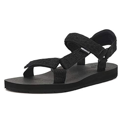 Women's Original Sandals Sport Sandals with Yoga Mat Insole Hiking Sandals Light Weight Shoes U619SLX022-Black-42