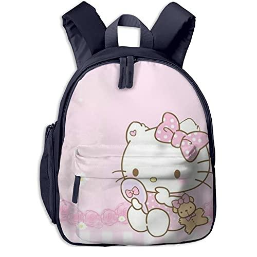 Mochila de Hello Kitty para niñas con mochila grande para viajes escolares
