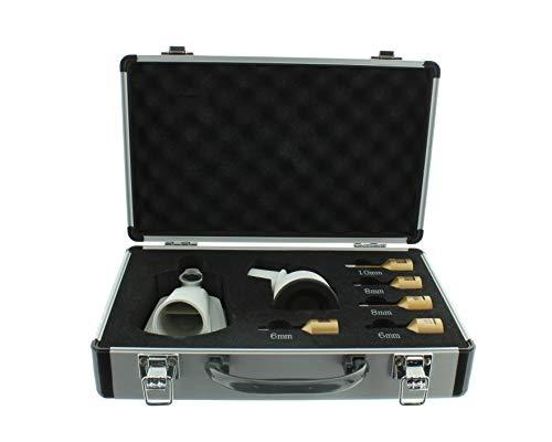 Diamantbohrkronen Set Festool Winkelschleifer M14 Aufnahme inkl. Absaugung Fliesenbohrkrone 2x 6 mm, 2x 8 mm, 1x 10 mm