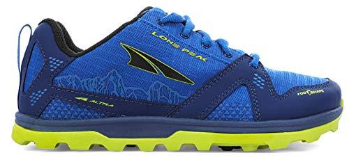 ALTRA Lone Peak Schuhe Jugend Blue/Lime Schuhgröße US 3 | EU 35 2021