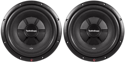 "2) Rockford Fosgate R2SD4-12 12"" 1000W Car Shallow Mount Slim Subwoofers Subs"