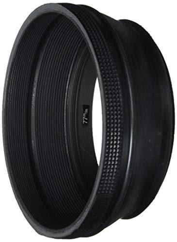 ETSUMI ラバーフードII 77mm用 ブラック E-6581