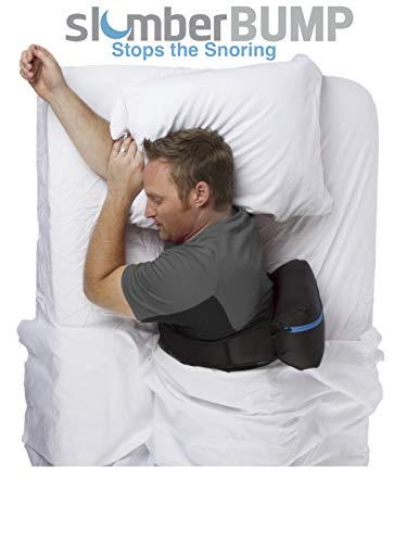 SlumberBump | Positional Sleep Belt | Designed for Long-Term Snoring and Sleep-Disordered Breathing Relief | Train Yourself to Stop Snoring | One Size Fits Most