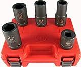 Chicago Pneumatic SS8205WS juego de llaves de vaso de impacto SAE y métrico de 5...