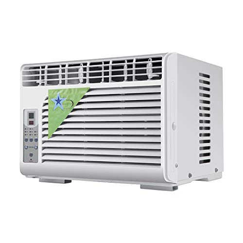 General 6,000 BTU Window Air Conditioner,Window-Mounted Air Conditioner with Remote Control(Cooling, Dehumidifier and Fan Functions),Mini-Compact Air Conditioner Fan for Kitchen Bedroom