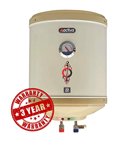 ACTIVA 2 Kva 25 L Storage 5 Star Asb Top Bottom Anti Rust Coated Body Geyser with Temperature Meter with...