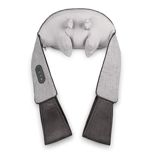 Medisana NM 890 Shiatsu-Nackenmassagegerät mit Wärmefunktion, 3 Geschwindigkeiten, 2 Massagearten, Massageerlebnis wie mit Fingern, für Schulter und Nacken