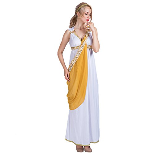 EraSpooky Damen Römische Göttin griechische Halloween Kostüm