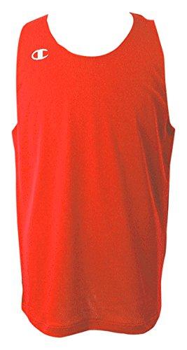 [チャンピオン] タンクトップ ワンポイントロゴ リバーシブルタンクトップ バスケットボール REVERSIBLE CBR2300 メンズ オレンジ XL