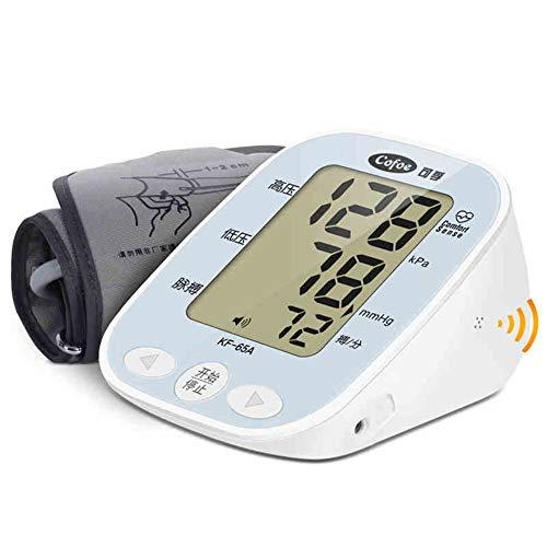 QIDI Blutdruckmessgerät Armtyp Haushalt Komplett Automatisch Genau Licht