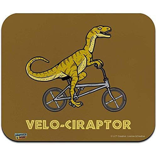 Gjid Velo Ciraptor Velociraptor fiets, grappige muismat, smal, lage profielen