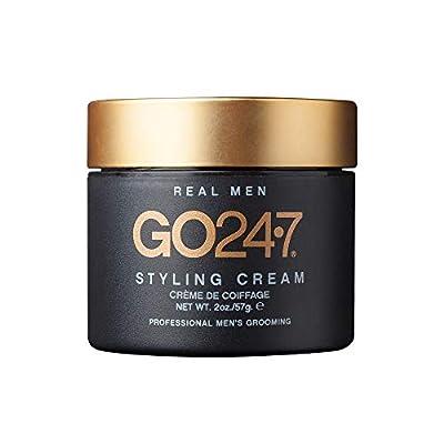 GO247 Real Men Styling Cream, 2 oz