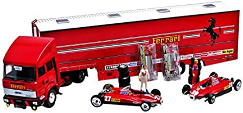 BRUMM BMRTS05 RACE F1 TRANSPORTER SET S.MARINO GP 1982 ED.LIM.PCS 500 1 43 MODEL
