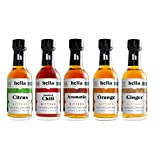 Hella Cocktail Co. | 5-Pack Bitters Bar Set, 8.5 Fl Oz Total | Craft Aromatic, Orange, Ginger,...