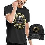 sunminey Homme T- T-Shirt Polos et Chemises Macross Robotech Logo VF-1 Washed Baseball-Cap + T-Shirt Combo Set