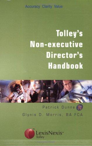 Tolley's Non-executive Director's Handbook (CIMA Professional Handbook)の詳細を見る