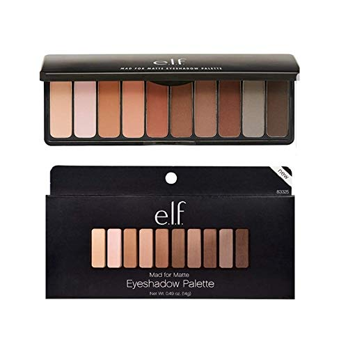 Pack of 2 e.l.f. Eyeshadow Palette, Mad for Matte 83325