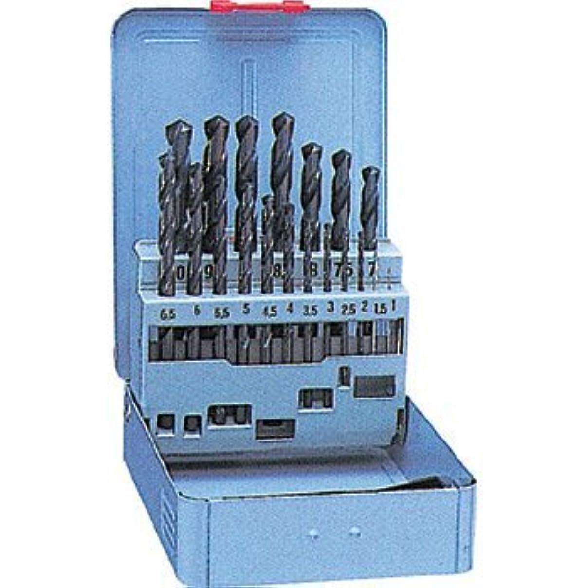 支配的理容室未亡人ナチ(NACHI) 鉄工用ドリル 19本セット (金属?金工)