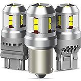 Z&LEI Bombillas LED Superbrillantes 12 Piezas 2835 Chip Canbus Reemplazo Sin Errores para Señal De Giro Luces De Estacionamiento De Freno De Respaldo De Marcha Atrás