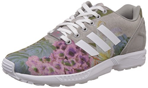 adidas ZX Flux Women Schuhe Clear Sky-Running White-Frozen Green - 40 2/3