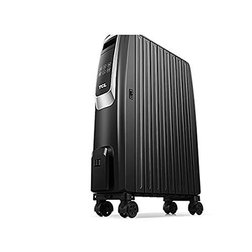 ZP-Heater Radiador eléctrico,2000W Portátil Pared Calefactor Eléctrico Programable Termostato Digital LCD Timer...