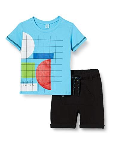 Set T-Shirt E PANTALONICINI Jersey Tasche Bambino Azzurro Funny Games