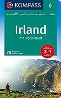 KOMPASS Wanderfuehrer Irland mit Nordirland: Wanderfuehrer mit Extra-Tourenkarte 1:50000, 70 Touren, GPX-Daten zum Download.