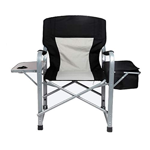 Folding Chairs Portable Camping Chair Picnic Chairs Fishing Chair dark grey