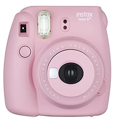 Fujifilm Instax Mini 8+ (Mint) Instant Film Camera + Self Shot Mirror for Selfie Use (Japan Import) by
