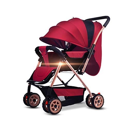 3-In-1 opvouwbare kinderwagen kan zitten of liegen Baby kinderwagen draagbare twee-weg 1-3 jaar oude kinderen pasgeboren baby