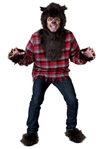Adult Fierce Werewolf Costume Plus Size Classic Wolfman - http://coolthings.us