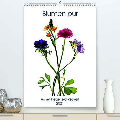 Blumen pur (Premium, hochwertiger DIN A2...