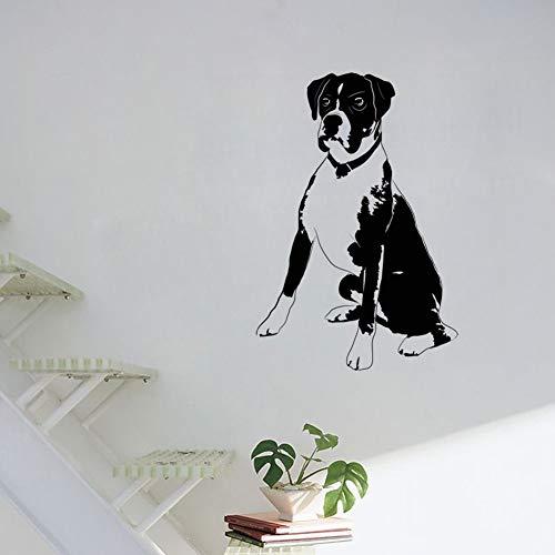hetingyue boxershorts voor honden, vinyl, zelfklevend, hol, decoratie voor woonkamer, dier, wanddecoratie, huis