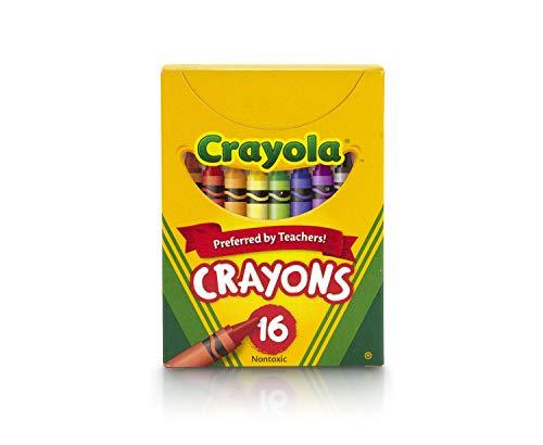 Crayola Crayons for Kids, School Supplies, 16 Count
