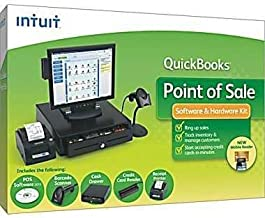 Point of Sale Complete Hardware Bundle - With Pole Display Intuit Payment Processing required
