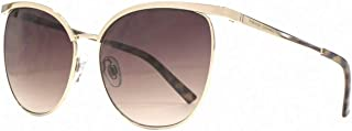 French Connection Womens Glamour Sunglasses - Light Gold
