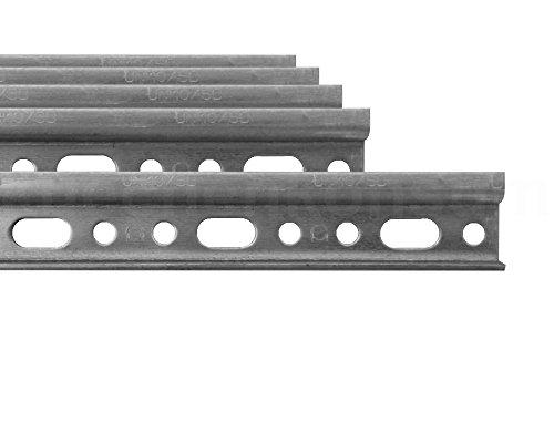 Aufhängeschiene 5er Küchen-Hängeschränke 118 cm Montageschiene verzinkt Wanhaken