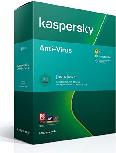 Kaspersky Anti-Virus 2021 Standard | 1 Gerät | 1 Jahr | Windows | Aktivierungscode in Standardverpackung