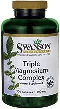 Triple Magnesium Complex 400 mg 300 Caps 2 Bottles