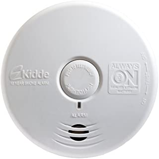 Kidde P3010L Worry-Free Living Area Photoelectric Smoke Alarm with 10 Year Sealed Battery by Kidde