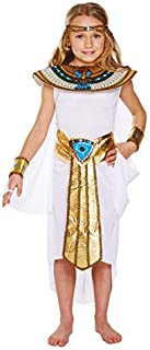 Egyptian Girl Costume, Cleopatra Fancy Dress, Medium Age 7-9