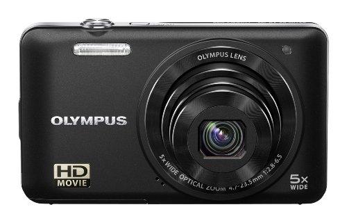 Olympus VG-160 Digitalkamera (14 Megapixel, 5-fach opt. Zoom, 7,6 cm (3 Zoll) Display, bildstabilisiert) schwarz