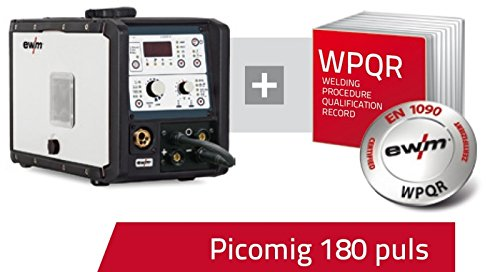 EWM we are welding EWM Picomig 180 puls SET + EN1090 WPQR Paket
