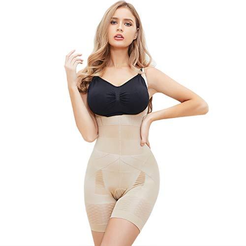 SLIMBELLE - Fajas para mujer con control de barriga y control de cintura -  Blanco -  X-Large