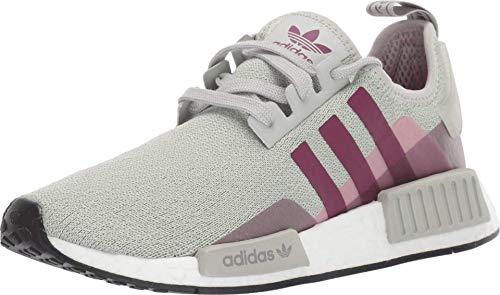 Adidas ORIGINALS Damen NMD_r1 W, Esche Silber/Lila Beauty/Shock Pink, 35.5 EU