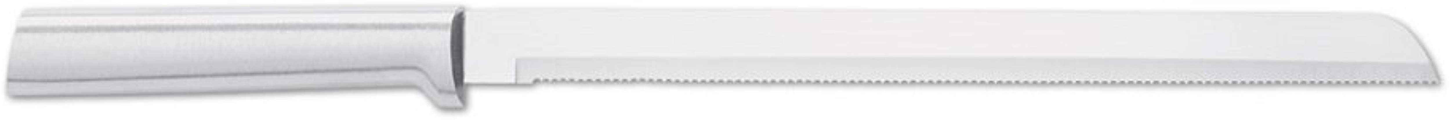Rada Cutlery 10 Inch Stainless Steel Bread Knife With Silver Aluminum Handle Made In USA